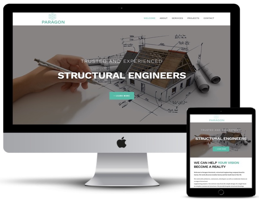 Paragon Structural responsive view